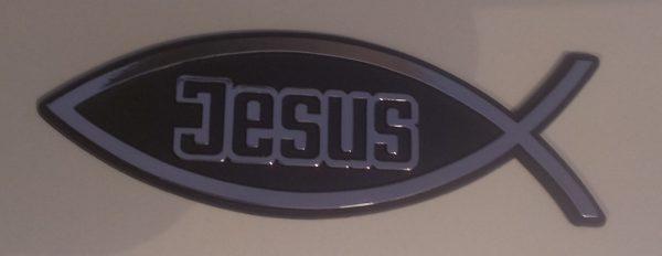 Autoemblém - Jesus