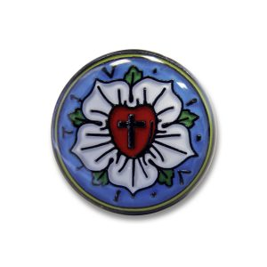 Odznak - Lutherrose