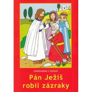 Maľovanka - Pán Ježiš robil zázraky