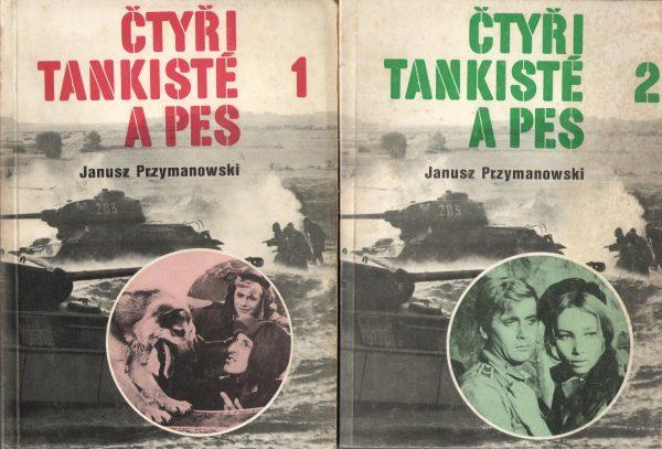Čtyři tankisté a pes I-II - J.Przymanowski - antikvariát