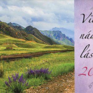 2020 Viera, nádej, láska (nástenný kalendár)